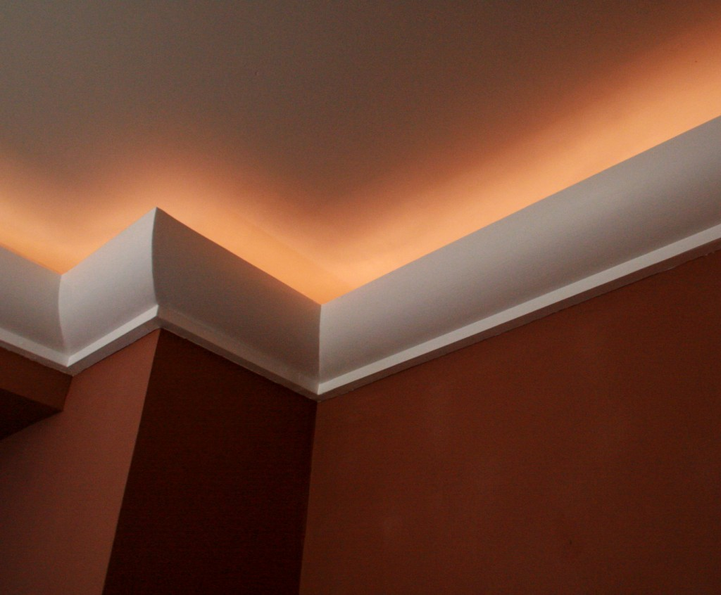 Peinture à effet au plafond