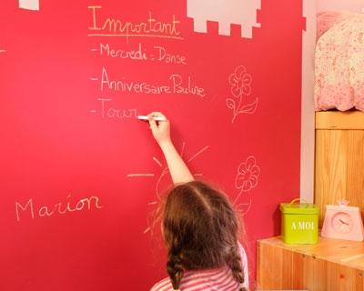 La peinture ardoise parfaite pour une chambre d 39 enfant - Peinture pour chambre d enfant ...