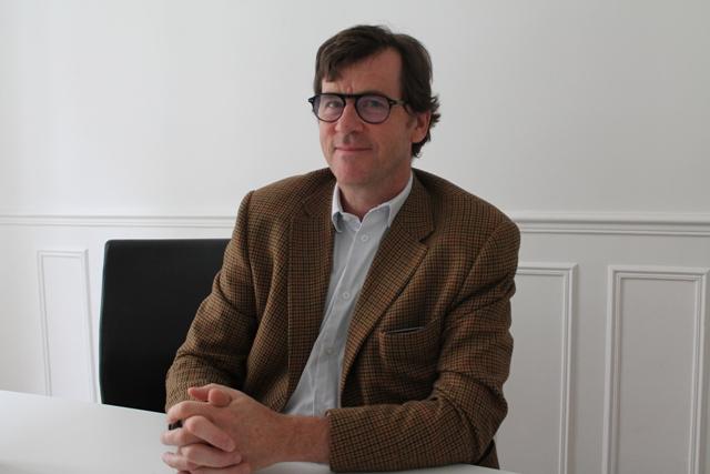 Guillaume de Maussion, président-directeur du futur Grand Musée du Parfum. © C.Gaillard