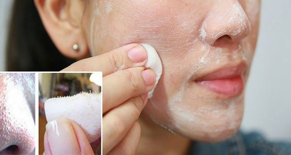 masque de dentifrice et de sel marin