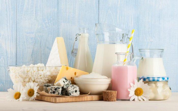 produits laitiers et protéeines