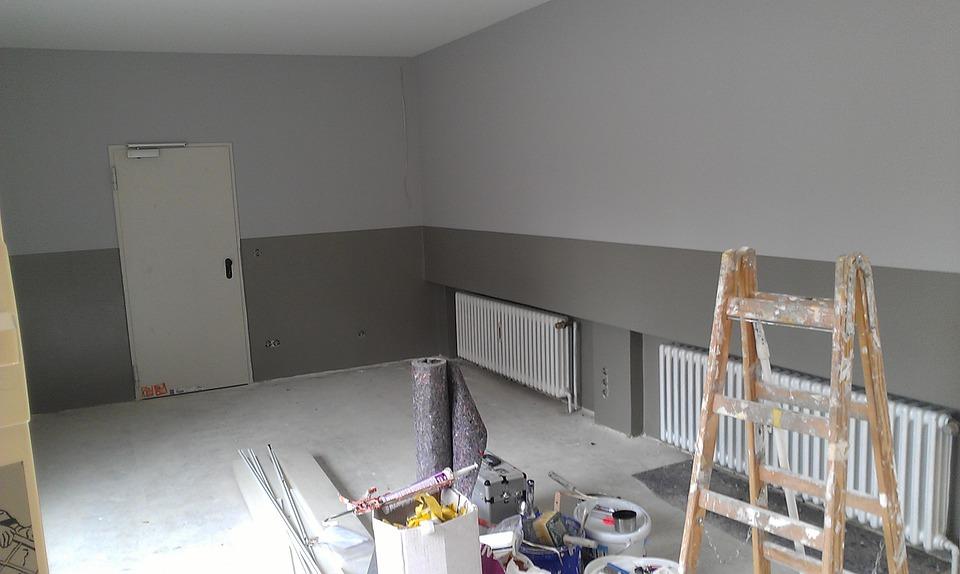 étapes rénovation d'intérieur