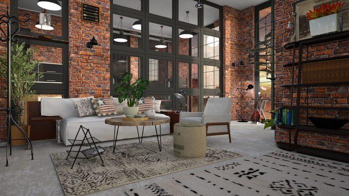 décoration loft industrielle