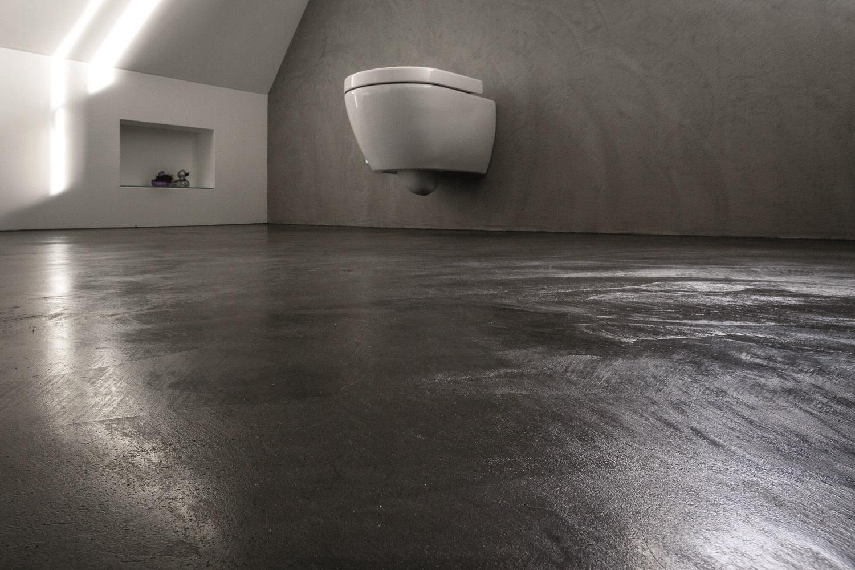 Sol En Beton Interieur le béton ciré : un revêtement de sol pour votre intérieur