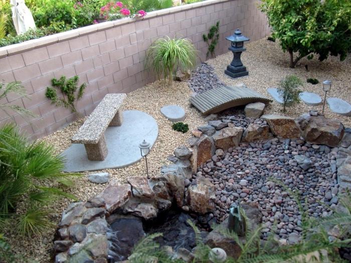 Définition du jardin zen
