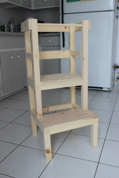 tour montessori en bois